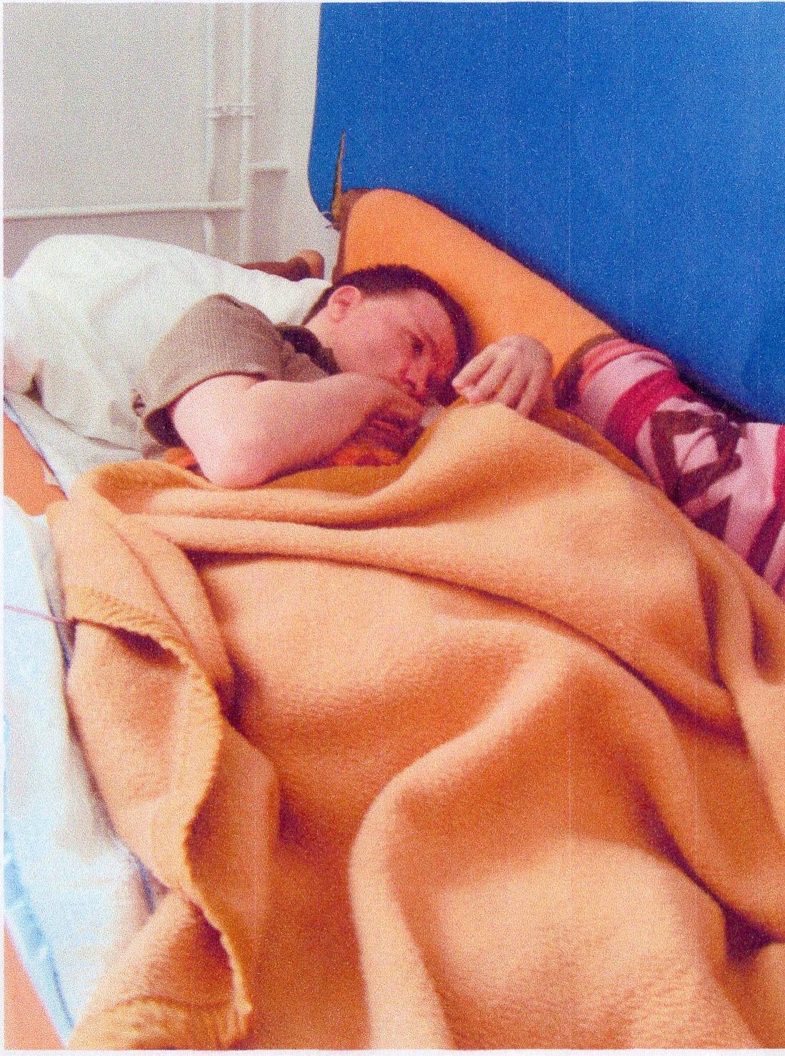 Thorsten S. lag zehn Jahre als Schwerstpflegefall im Krankenhaus. Foto: Privat